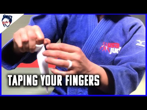Ronda Rousey's Dojo | Judo Lesson Number 2: Taping Your Fingers