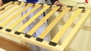 Видео-инструкция по сборке кроватки Lanami Sweet(Видео-инструкция по сборке кроватки Lanami Sweet Купить кроватку Вы можете в магазине Detto: http://detto.com.ua/59-krovatki/m-243-lanami., 2013-11-26T16:38:30.000Z)