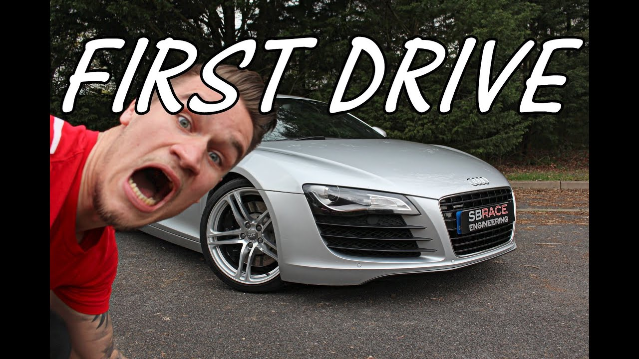 My First Drive In Audi R8 Ever