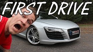My FIRST Drive in My Audi R8 EVER!!
