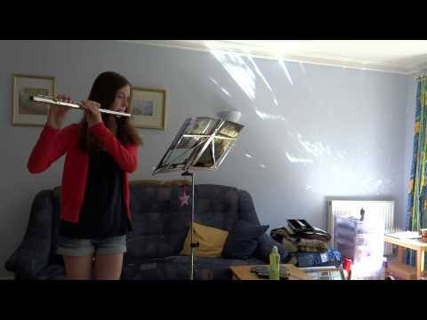 'Hogwarts' Hymn' on flute