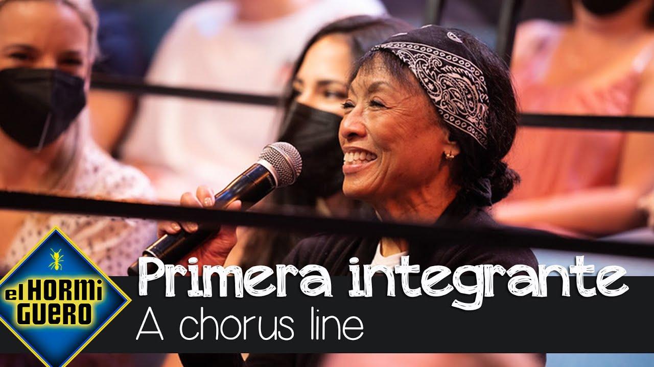 """La intervención de una de las primeras integrantes de A Chorus Line: """"¿Me quieres?"""" - El Hormiguero"""