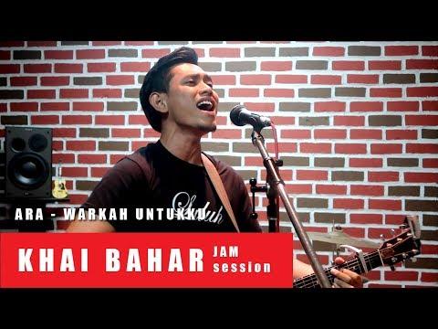 KHAI BAHAR Nyanyi lagu Ara Warkah Untukku - Original Key !! (cover)