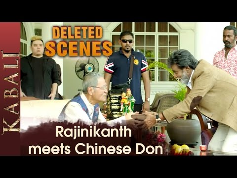 Rajinikanth Gets a Gun from Don | Kabali...