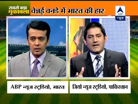 """India and Pakistan cricket experts """"hit out"""" at each other after Chennai ODI"""