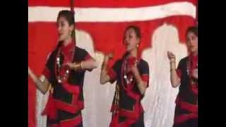 newari dance likka woya jit dhal won i.j.pioneer school class 7, 2069-12-24-7dance gautam nakarmi