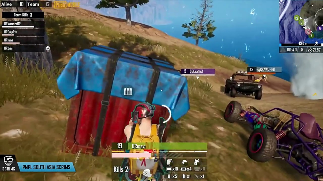 [Highlights] PMPL Scrims Day 1 Match 2   OR Mavi on Fire (PMPL South Asia Scrims 2020)