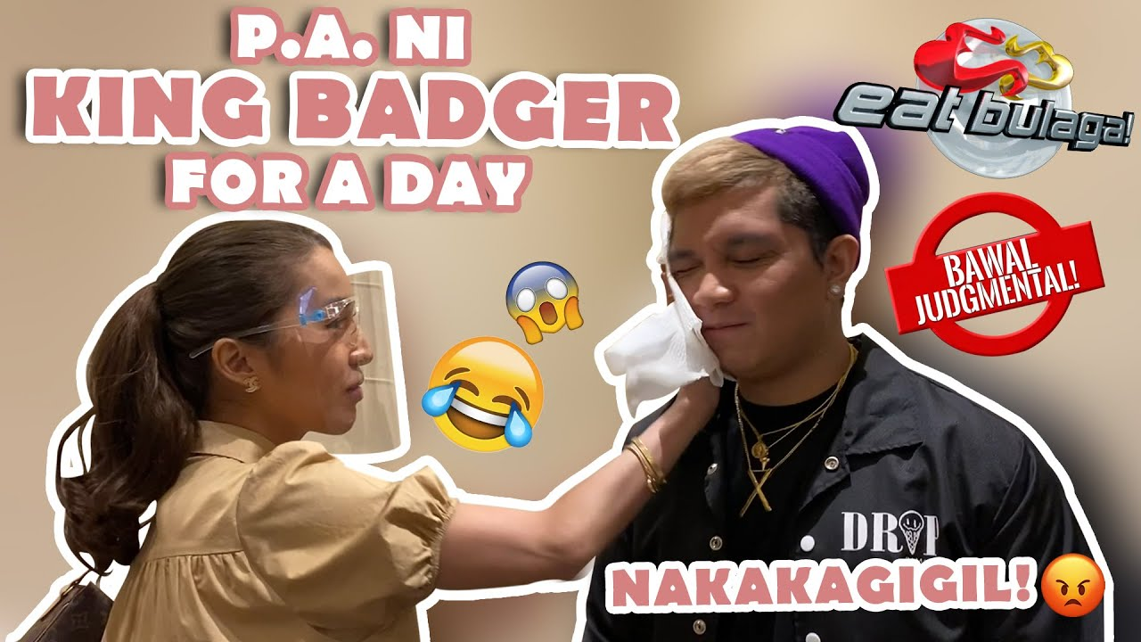 KING BADGER'S P.A AND DRIVER FOR A DAY (EAT BULAGA) | JELAI ANDRES