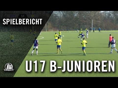 SC Vorwärts-Wacker - SV Eidelstedt (U17 B-Junioren, 4. Runde, Pokal) - Spielbericht | ELBKICK.TV