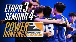 Power Rankings Etapa 3 Semana 4  - Overwatch League