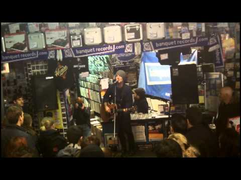 Dave Hause in-store (full set) at Banquet Records - Dec '13