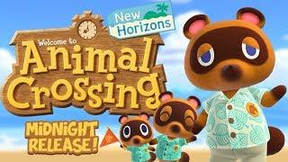 Midnight Launch! - Animal Crossing: New Horizons Is Here!  Nintendo Switch