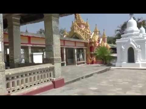 Myanmar - Mandalay - Kuthodaw Pagoda - World's Biggest Book #1   28 Feb 2015