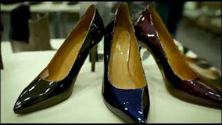 Оптовая выставка польской обуви от ООО ''Открытый партнер'', взгляд телеканала БелБизнесЧенел
