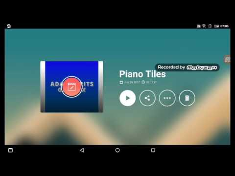 Playing my own playlist (Piano Tiles 2)