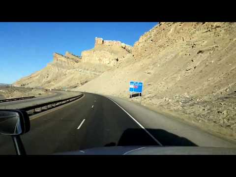 BigRigTravels LIVE! Palisade, Colorado to Green River, Utah Interstate 70 West-Feb. 27, 2018