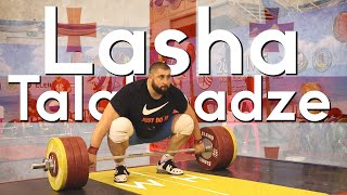 Lasha Talakhadze 210kg snatch 255kg C&J | Heaviest Training Hall Total Ever