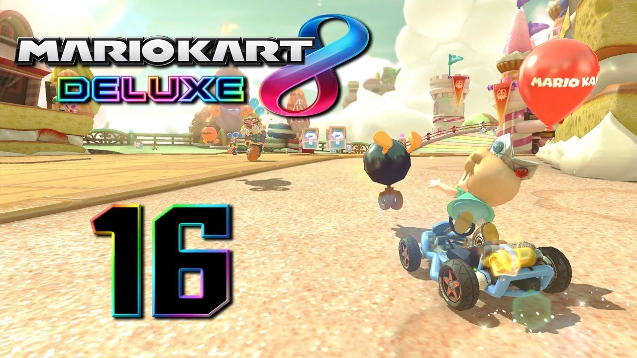 Mario Kart 8 Deluxe ITA [Parte 16 - Bob-omba a tappeto]