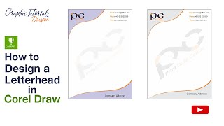 Corel Draw Tutorial: How to Design a Letterhead Mp3