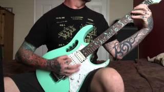 Man Must Die - Kill It Skin It Wear It (guitar playthrough)