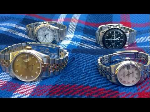THE PERFECT FAMILY COLLECTION OF WATCHES - ROLEX, OMEGA AND HER WATCH