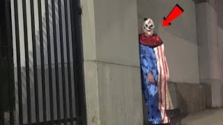 I'm being STALKED by a Evil Clown **Please Help**