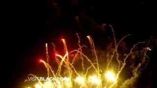 Blackpool Fireworks Championships Celebration Display 2014