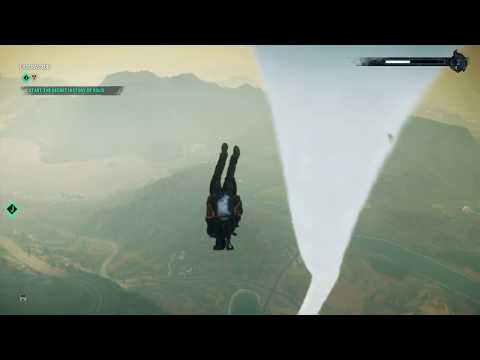 FLYING INTO A TORNADO - JUST CAUSE 4