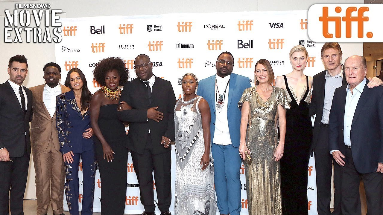 WIDOWS | Toronto International Film Festival (TIFF) red carpet & cast interview