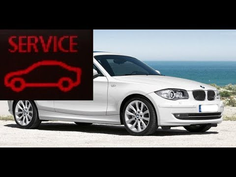 Resetting service light on BMW 1 series E87