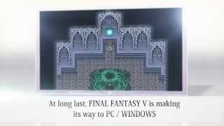 FINAL FANTASY V Steam Announcement Trailer