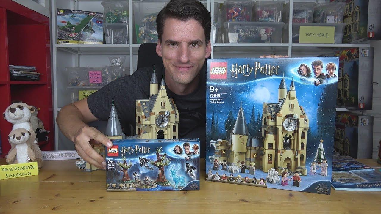 Lego Harry Potter 75948 Hogwarts Uhrenturm 75945 Expecto Patronum Youtube
