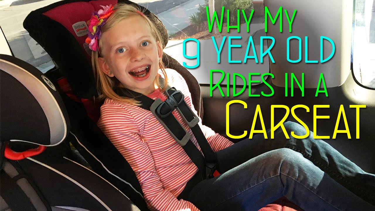Why My 9 Year Old Rides In a Car Seat || Mommy Monday - YouTube