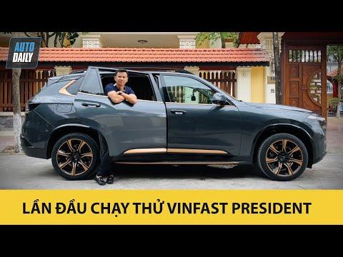 Lần đầu chạy thử VinFast President - Điều thú vị về SUV đầu bảng của hãng xe Việt |Autodaily.vn|