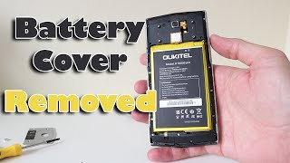 K10000 Pro Battery Cover Removed