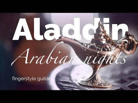aladdin---arabian-nights-|-fingerstyle-guitar-cover-+tabs