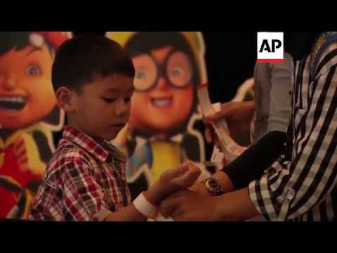 Indonesia - Child-friendly cinema opens | Editor's Pick | 20 May 16