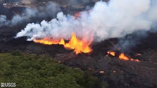 ハワイ・キラウエア火山の噴火 過去100年で最悪の規模!Hawaii Kilauea Volcano