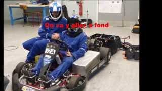 go kart electric (56kW) IUT Aisne karting