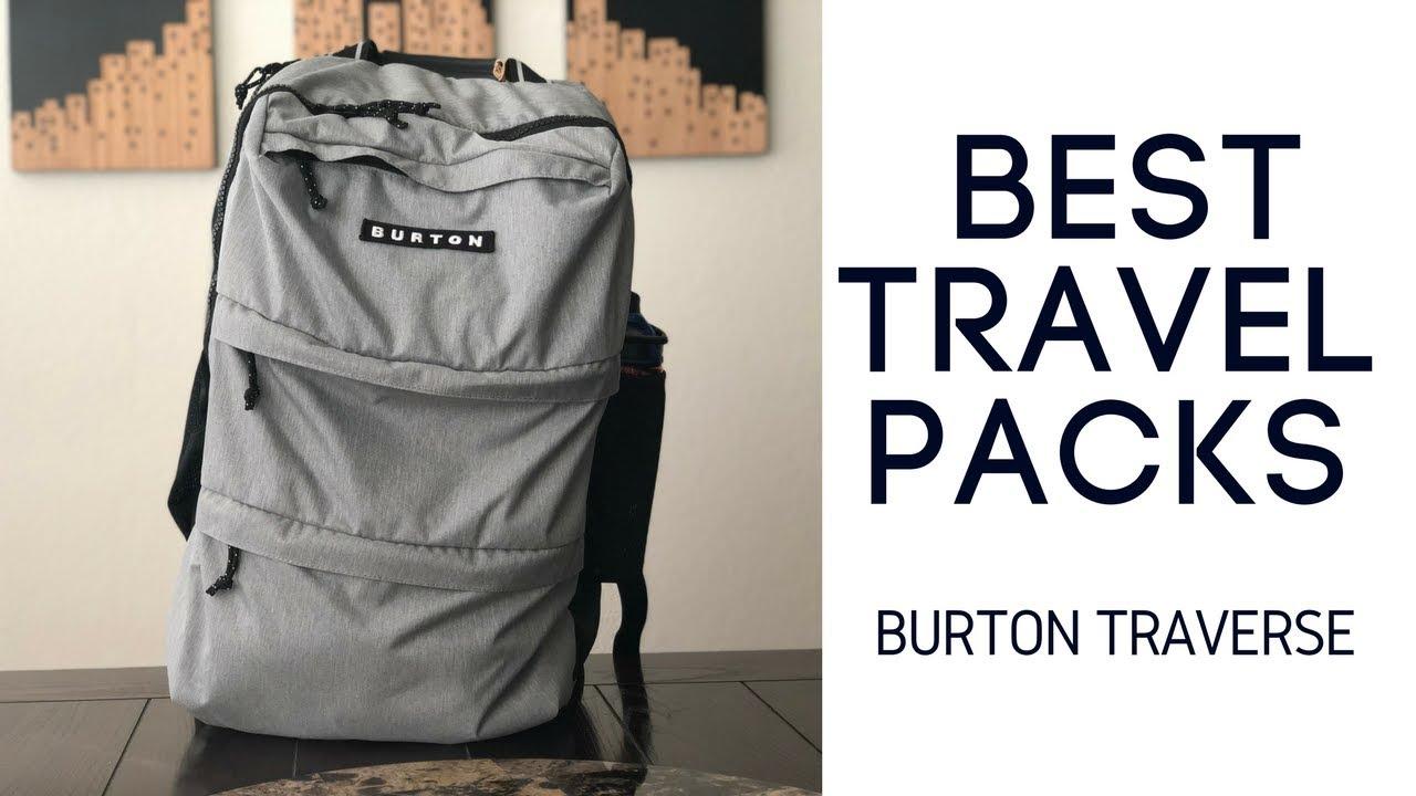 Best Travel Packs: Burton Traverse Pack Review