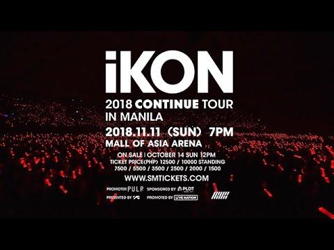 iKON 2018 CONTINUE TOUR IN MANILA