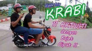 Krabi Vlog - Budget Trip to Krabi ( sedikit panduan dan tips )