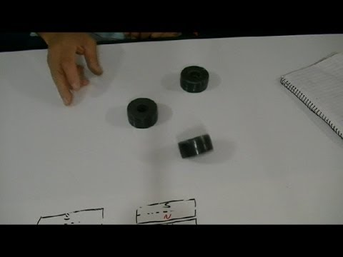 MAGNETISMO, QUE OCURRE SI...(unimos 2 imanes N-N )--WHAT IF ... (two magnets stick together?)