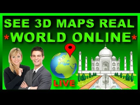 How to See 3D Street View on Google Maps 🌍  3d Real World Online on Google Earth Satellite  [Hindi]