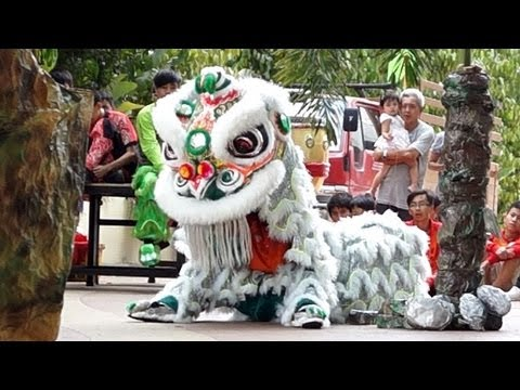 2013 Lion Dance Competition 甲洞国兴龙狮团 2013年傳統舞獅比賽