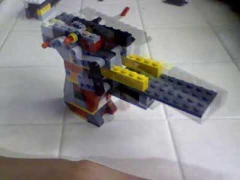 Lego Glock 26 Rubber Band Gun Instructions Youtube