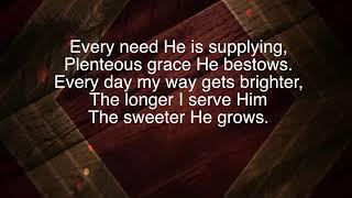 the-longer-i-serve-him-bill-gaither