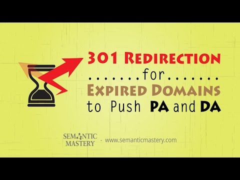 how to create a website redirect