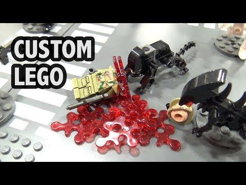 LEGO Aliens Dropship and Xenomorph Battle | BrickFair Virginia 2018