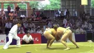 Чемпионат мира по Сумо 2015 г.Осака,Япония.  JPN vs POL